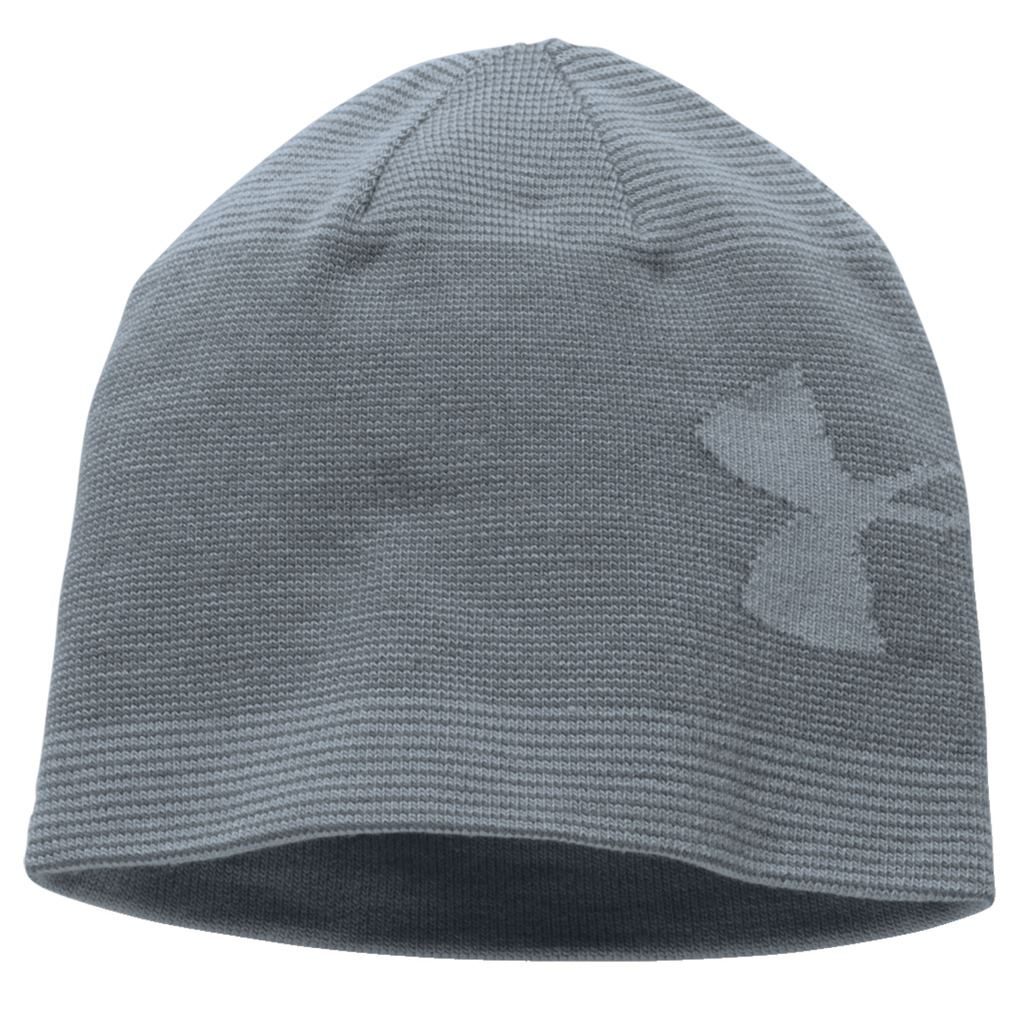 5ddbe58c065 Under Armour Mens Billboard 2.0 Beanie Hat Headwear Casual Sports Grey.  About this product. Picture 1 of 2  Picture 2 of 2