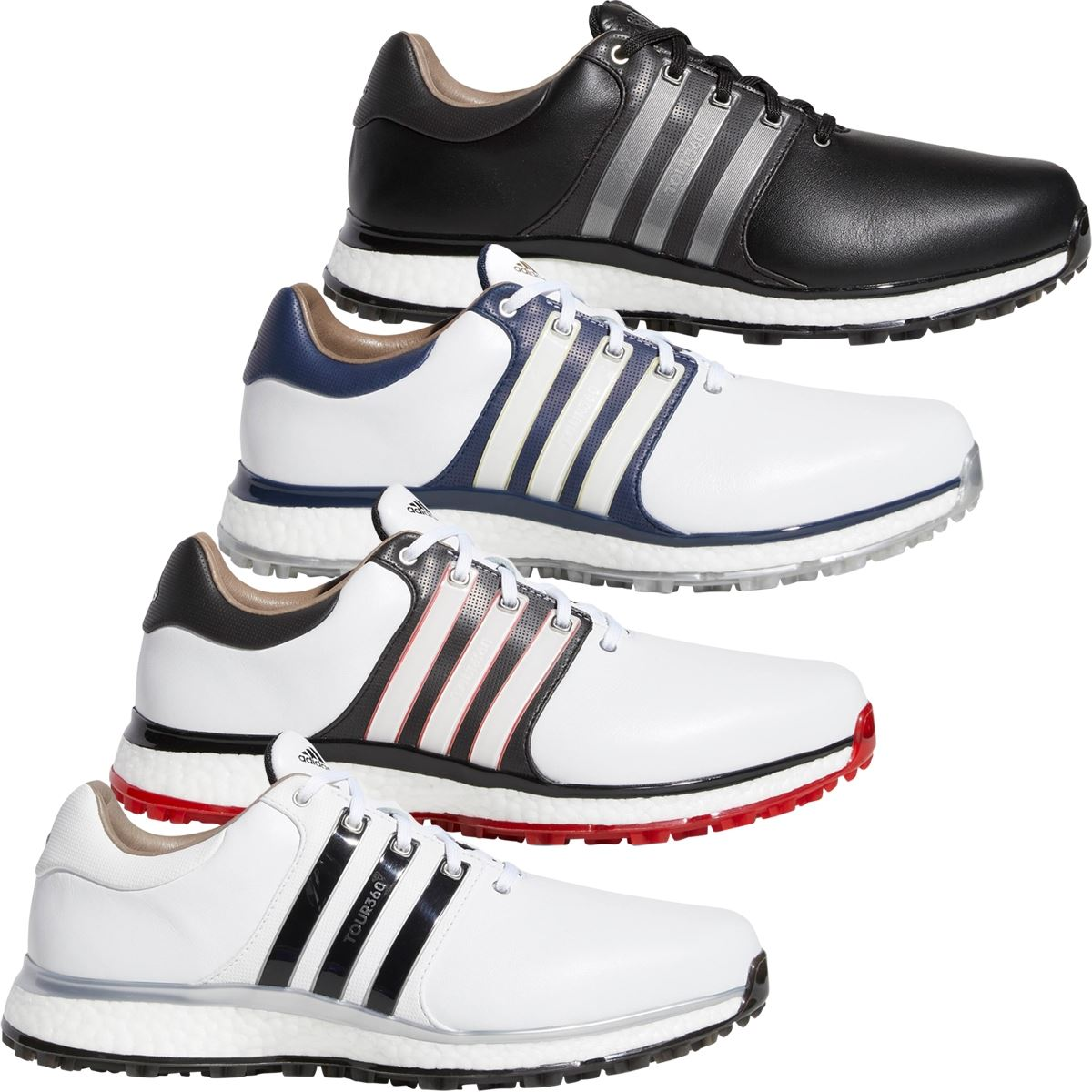 Adidas Tour360 golf shoes for 2019 include a spikeless offering