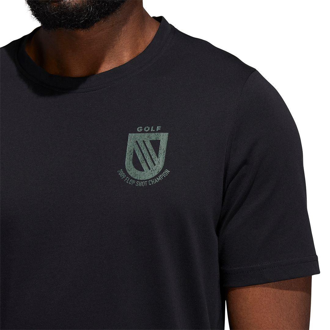 thumbnail 6 - ADIDAS Golf Mens Championship Stretch Lightweight 3-Stripes T-Shirt
