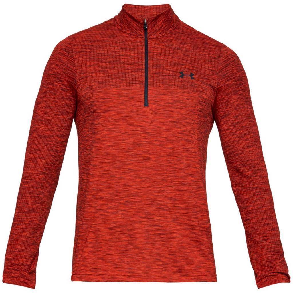 UNDER-ARMOUR-MENS-UA-VANISH-SEAMLESS-STRETCH-MESH-1-2-ZIP-GOLF-PULLOVER thumbnail 8