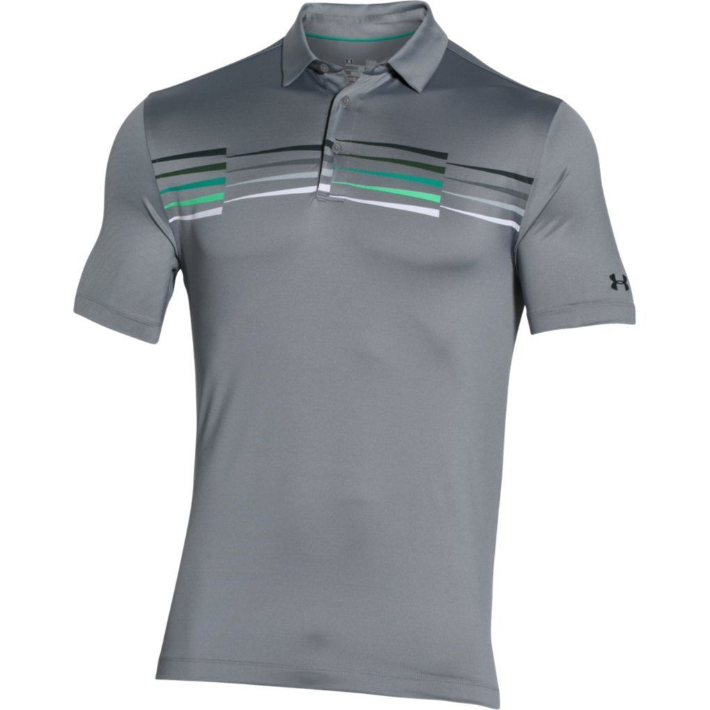 2016 under armour coldblack ace graphic performance mens for Under armor polo shirts