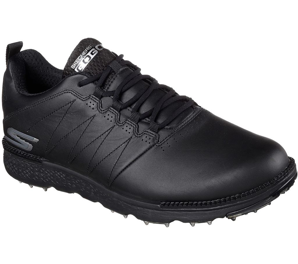 Mens Black Waterproof Golf Shoes