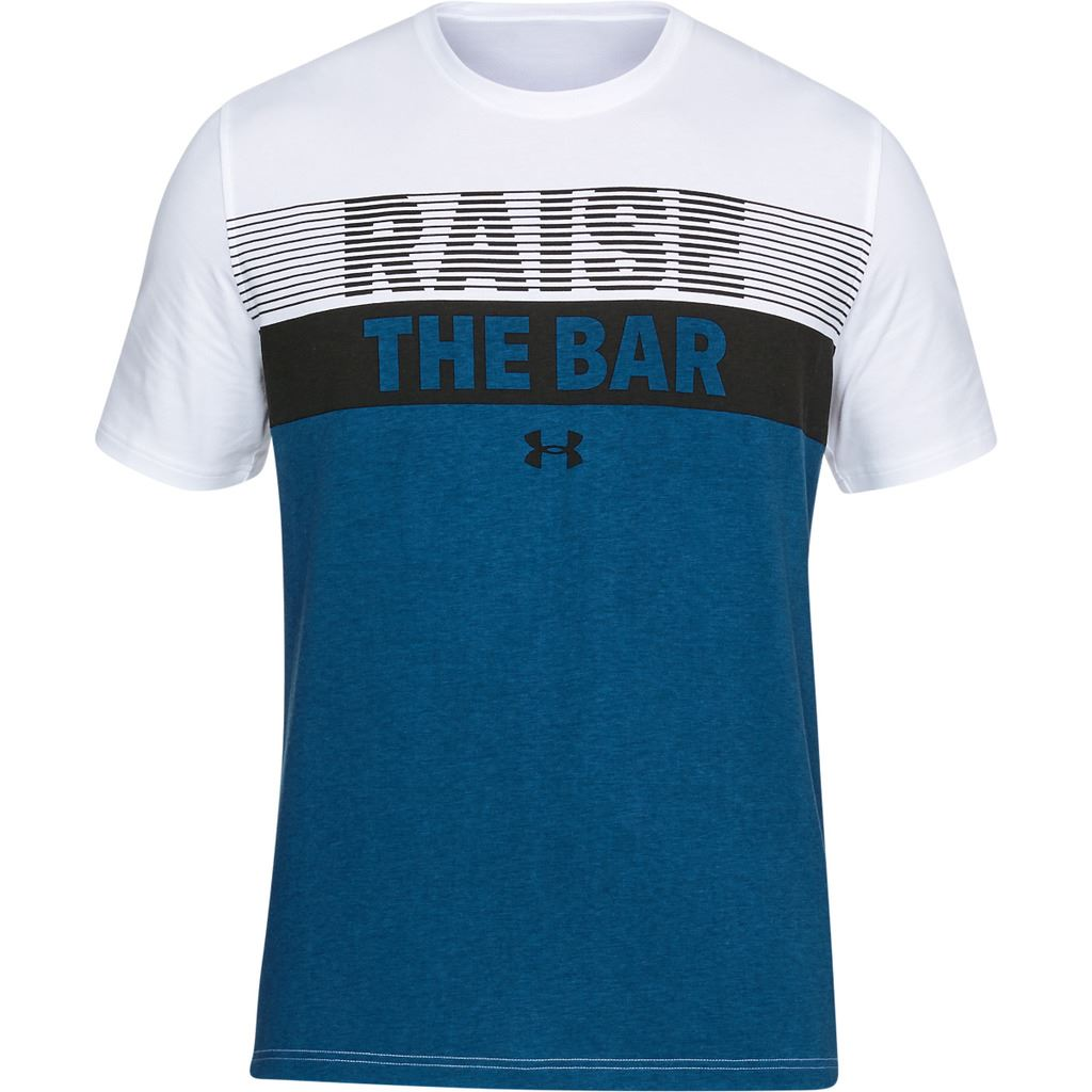 Under Armour 2018 Mens UA Raise The Bar Charged Cotton T-Shirt | eBay