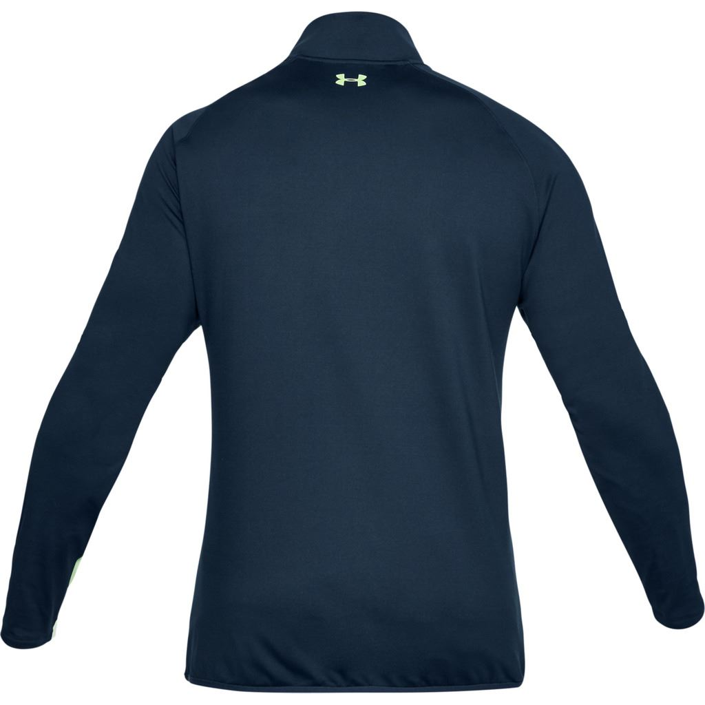 Under-Armour-EU-Midlayer-1-4-Zip-Hydrofuge-Hommes-Golf-Pull-Pullover miniature 9