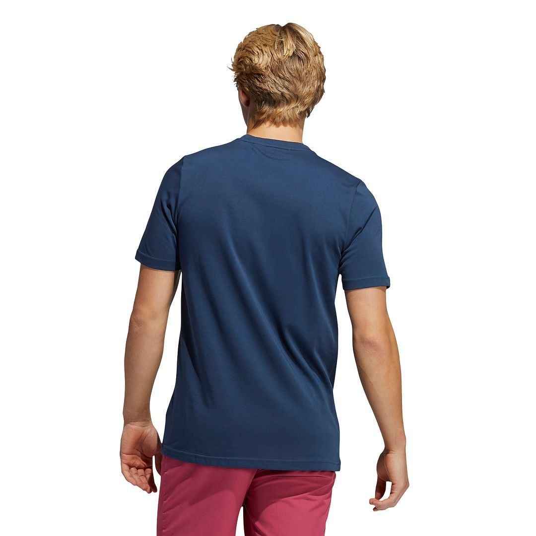 thumbnail 12 - ADIDAS Golf Mens Championship Stretch Lightweight 3-Stripes T-Shirt