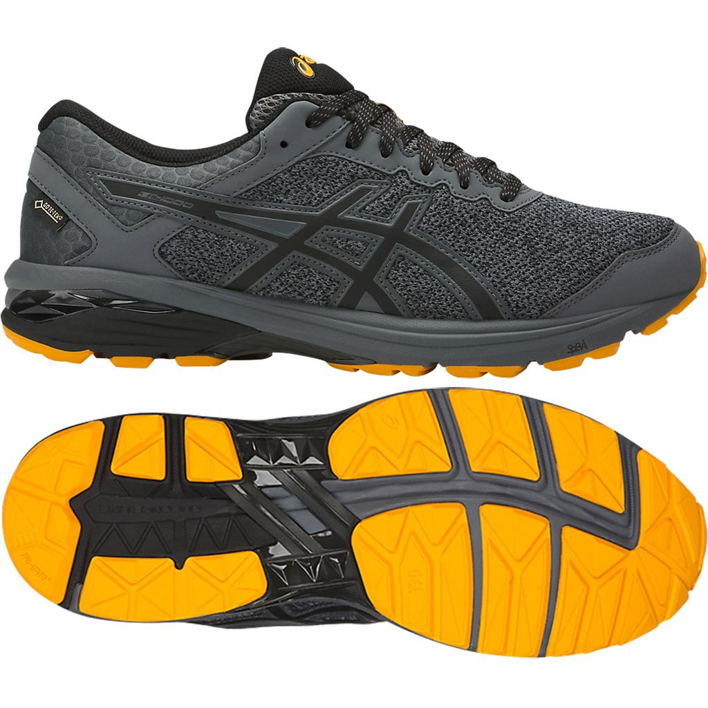 Carbonblackgold 1718 6 Fusion Gt1000 Gtx Asics Chaussures Running 7qOUW18