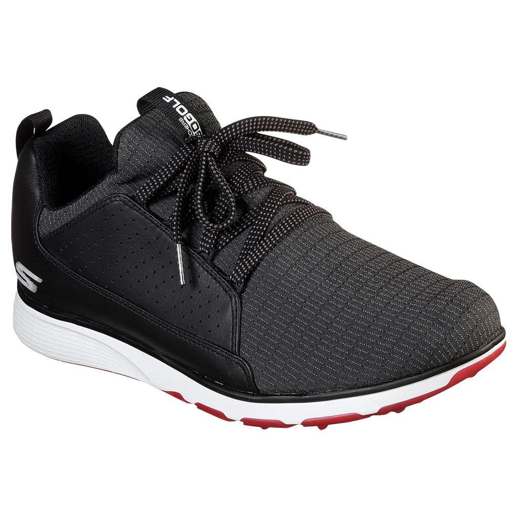 Skechers-GO-GOLF-Mojo-Elite-Leather-Waterproof-Spikeless-Golf-Shoes-54539 thumbnail 2
