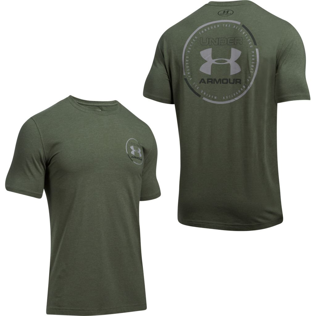 Under armour 2017 mens heatgear mantra short sleeve for Under armor business shirts