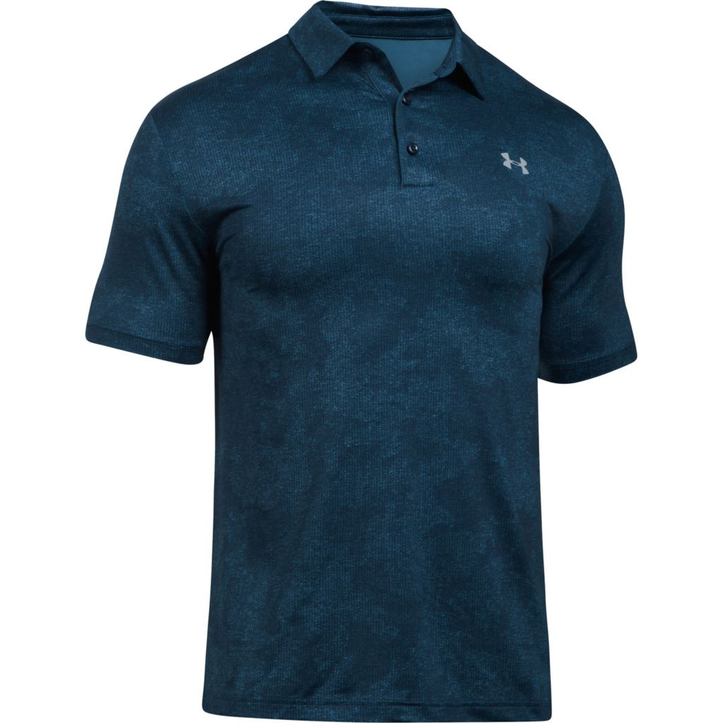 new for 2017 under armour playoff polo ua mens performance golf polo shirt ebay. Black Bedroom Furniture Sets. Home Design Ideas