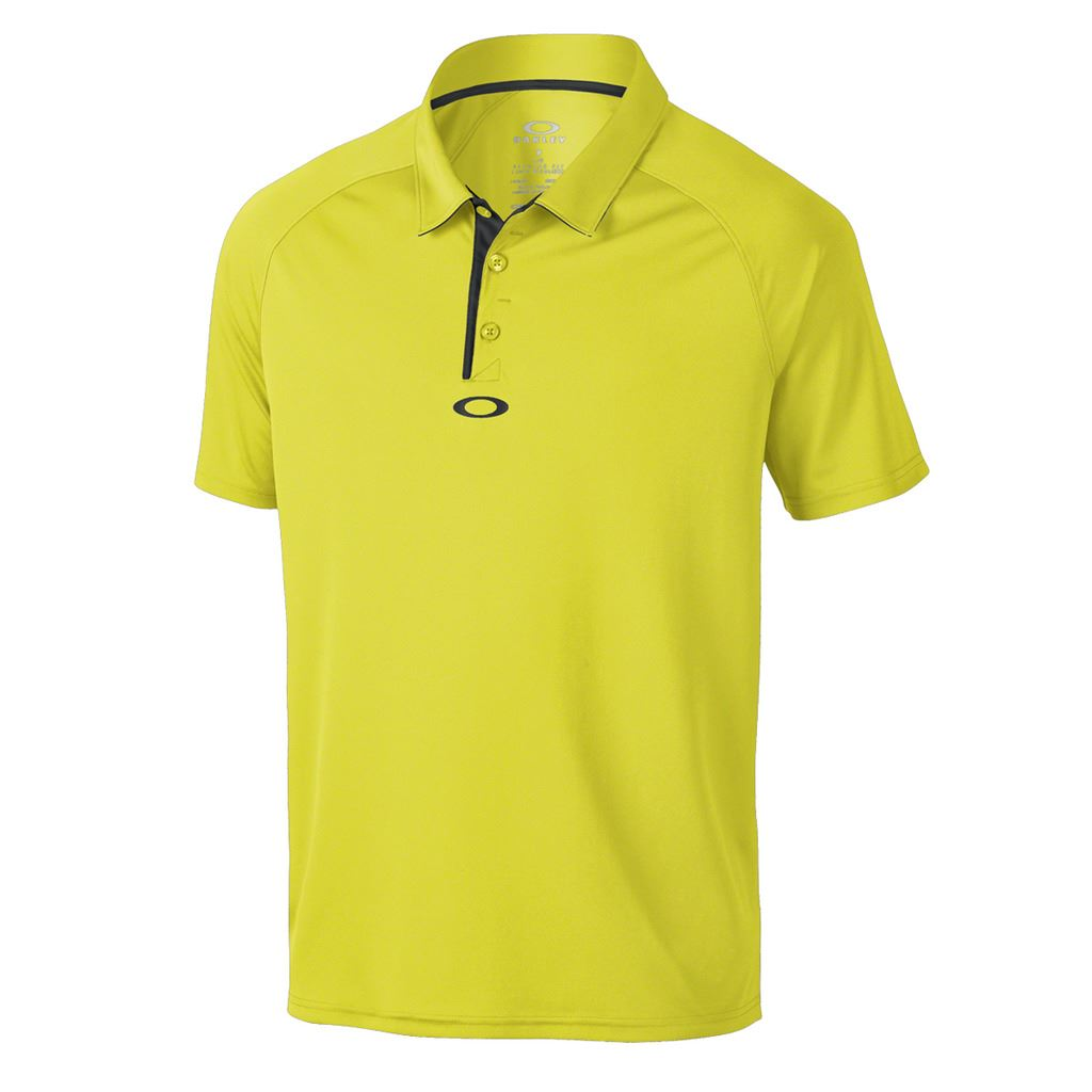 Oakley elemental 2 0 mens hydrolix performance golf polo for Mens golf polo shirts