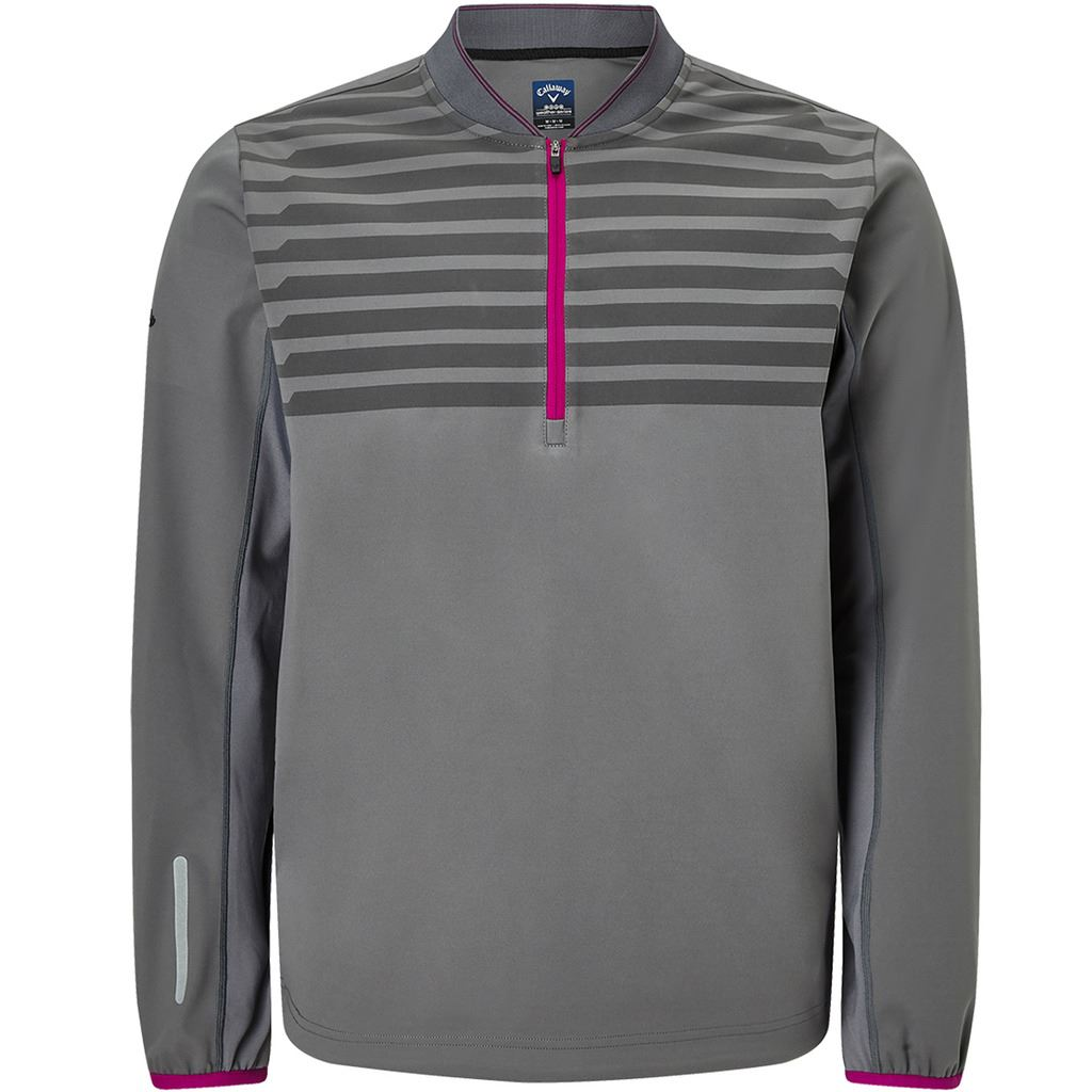 CALLAWAY-MENS-GOLF-TECHNICAL-MID-LAYER-1-4-ZIP-THERMAL-PERFORMANCE-GOLF-PULLOVER thumbnail 2