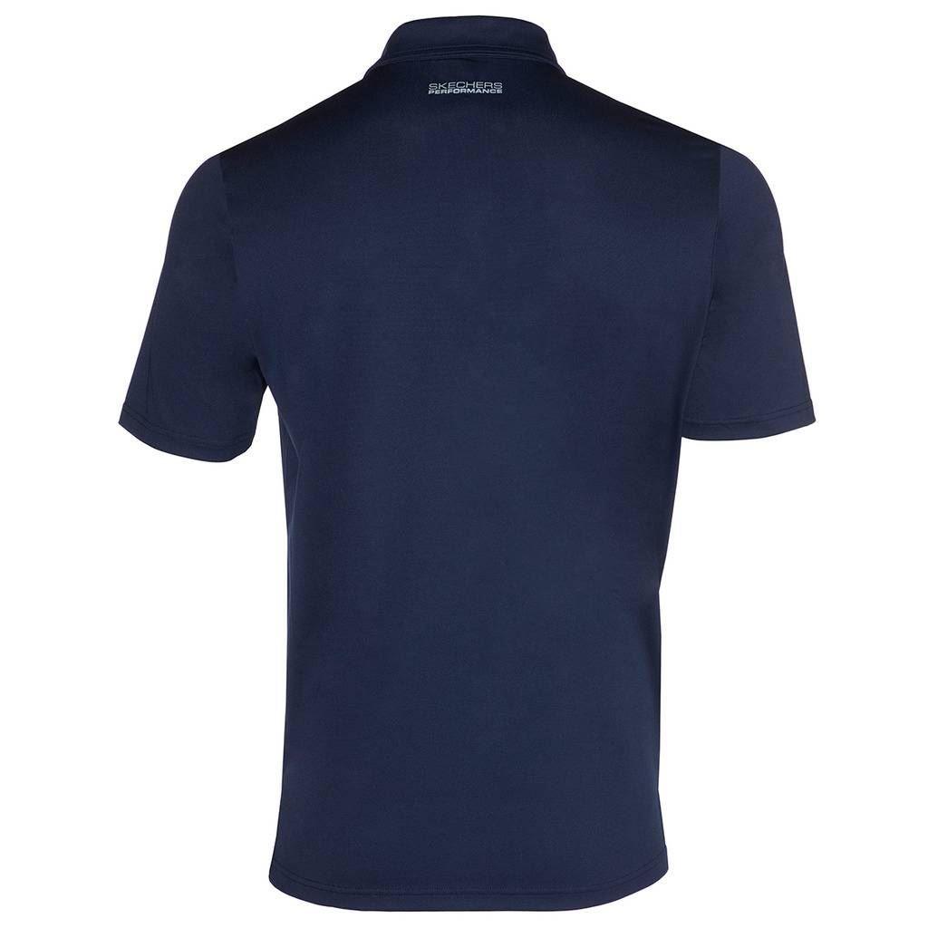 Skechers-Ir-golf-para-hombre-Sawgrass-Bolsillo-Manga-Corta-Camisas-Polo-de-rendimiento miniatura 15