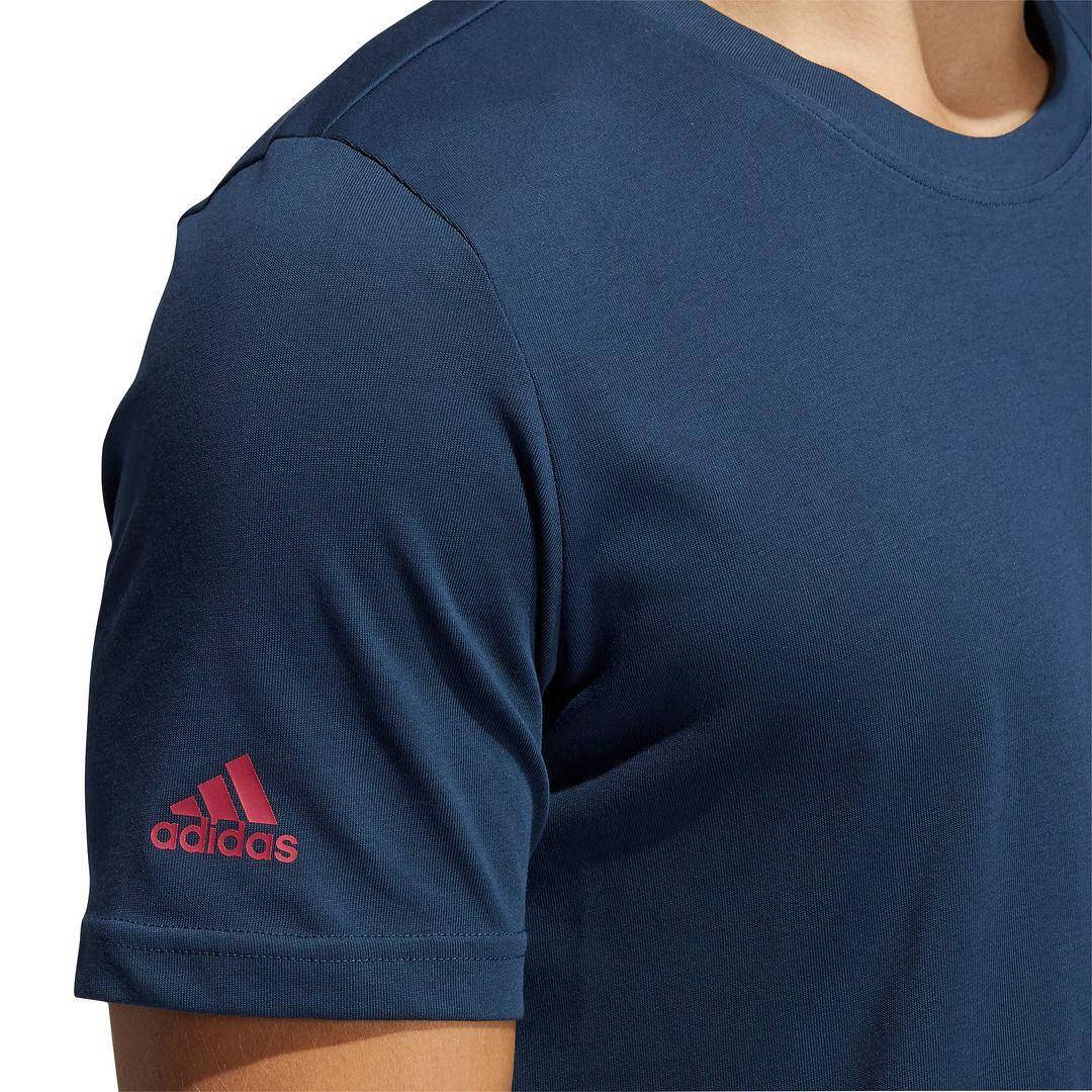 thumbnail 14 - ADIDAS Golf Mens Championship Stretch Lightweight 3-Stripes T-Shirt