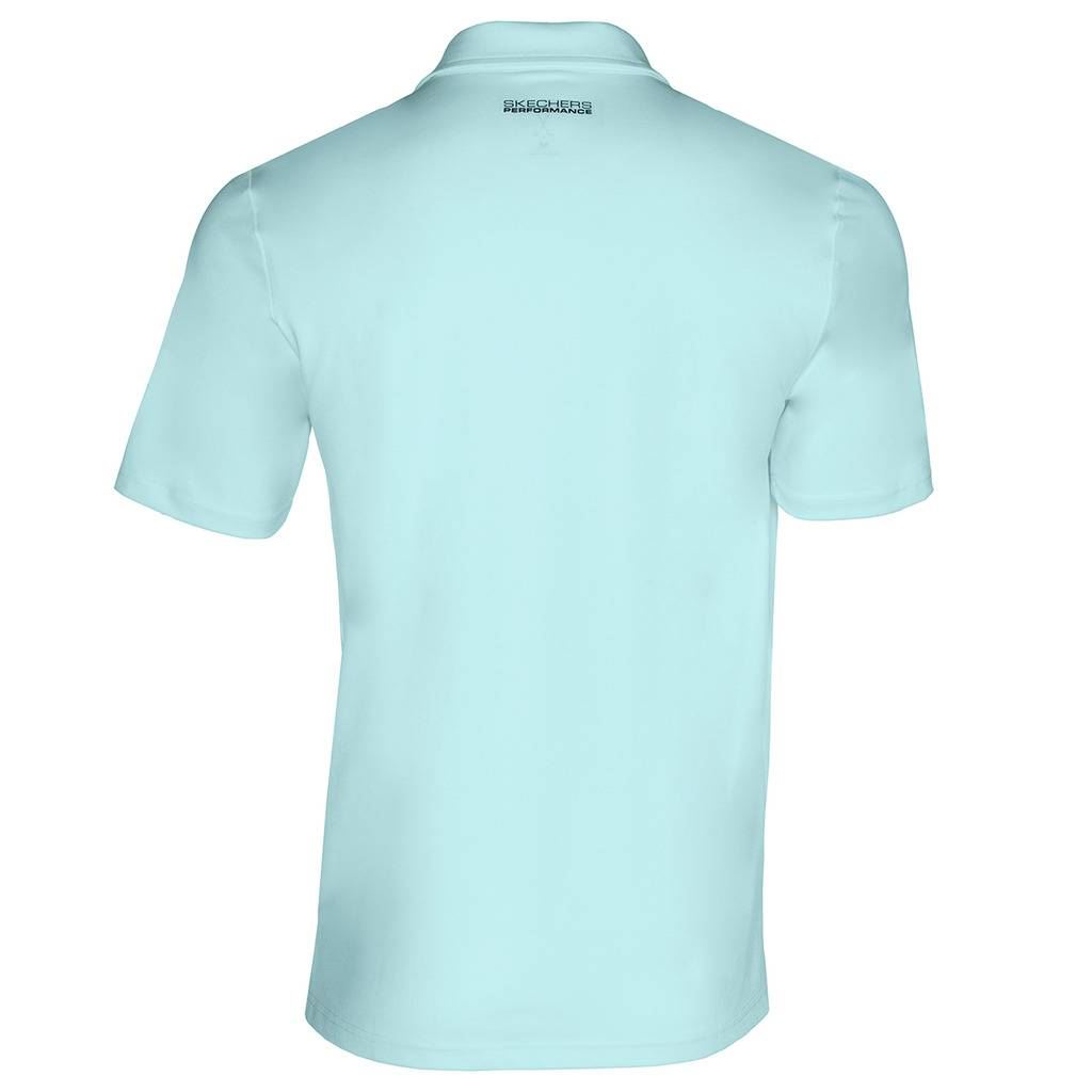 Skechers-Ir-golf-para-hombre-Sawgrass-Bolsillo-Manga-Corta-Camisas-Polo-de-rendimiento miniatura 13