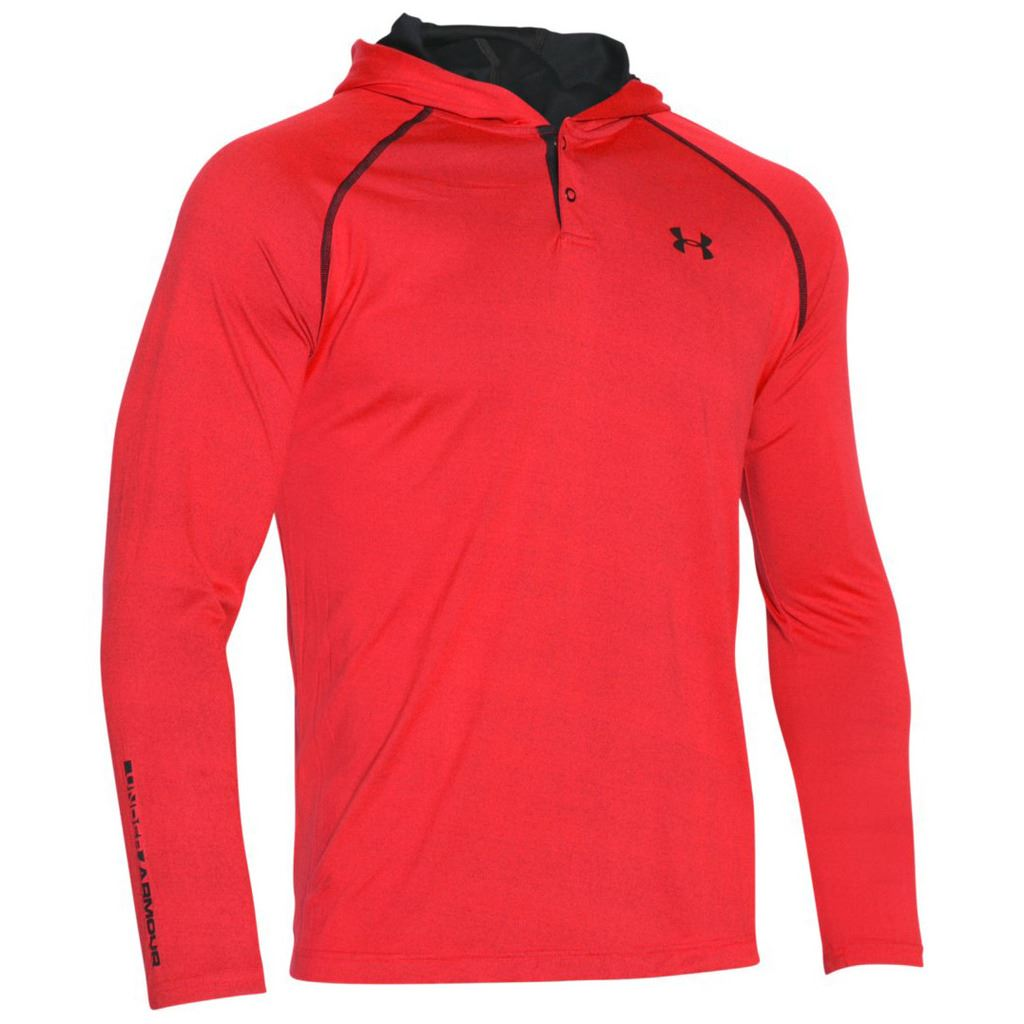 under armour 2017 ua tech popover henley training shirt. Black Bedroom Furniture Sets. Home Design Ideas