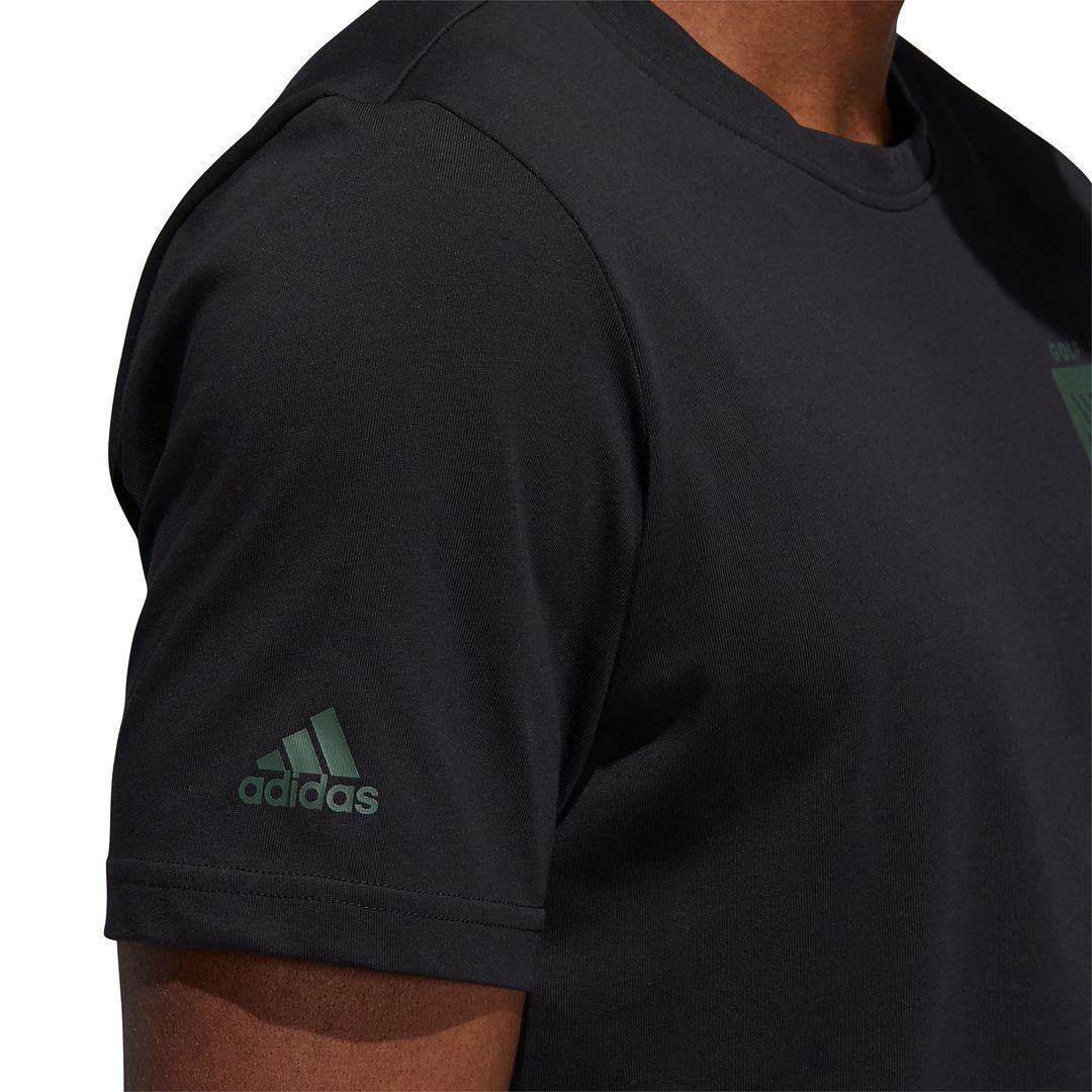 thumbnail 5 - ADIDAS Golf Mens Championship Stretch Lightweight 3-Stripes T-Shirt