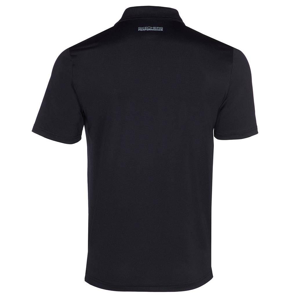 Skechers-Ir-golf-para-hombre-Sawgrass-Bolsillo-Manga-Corta-Camisas-Polo-de-rendimiento miniatura 7