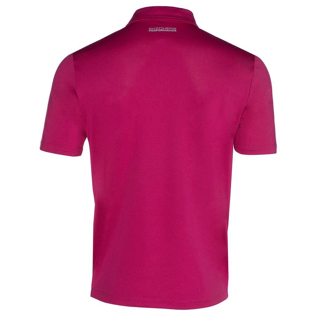 Skechers-Ir-golf-para-hombre-Sawgrass-Bolsillo-Manga-Corta-Camisas-Polo-de-rendimiento miniatura 3