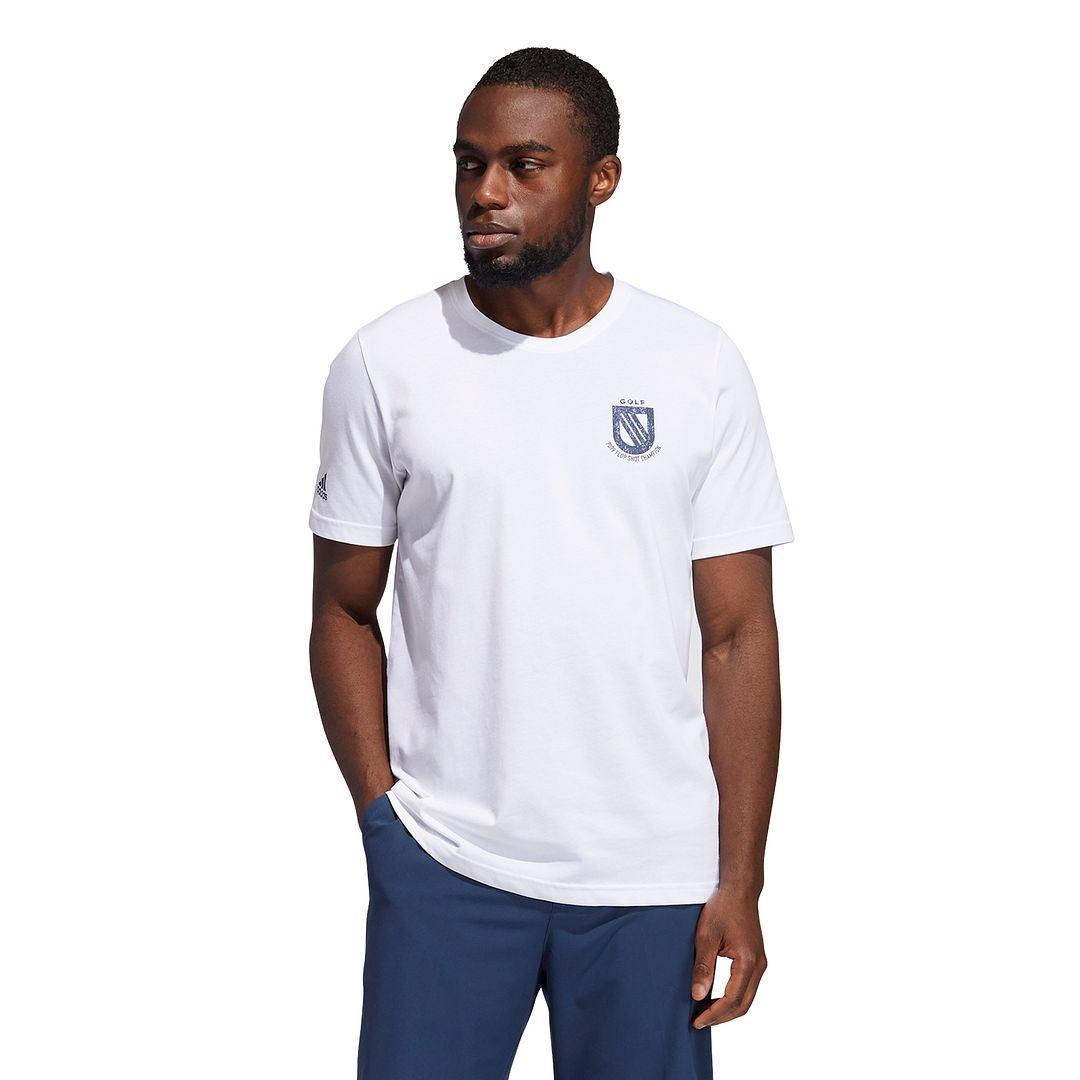thumbnail 9 - ADIDAS Golf Mens Championship Stretch Lightweight 3-Stripes T-Shirt