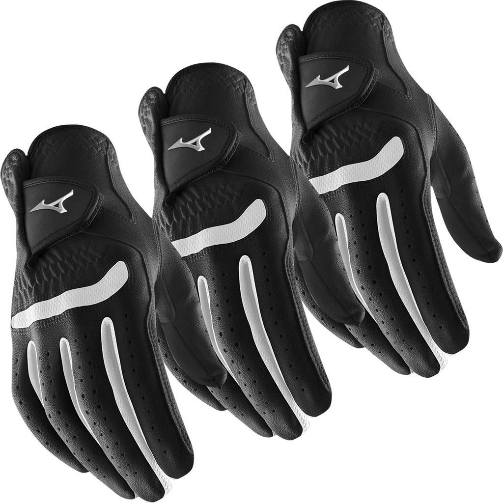 Pack-of-3-Mizuno-2018-All-Weather-Comp-Mens-Golf-Gloves-Right-Hand