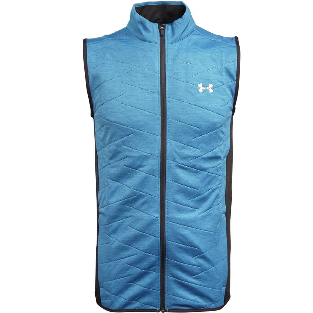 Under Armour Armour Under 2018 ColdGear Voller Zip Reactor Hybrid Gilet Herren Golf Weste 96440b