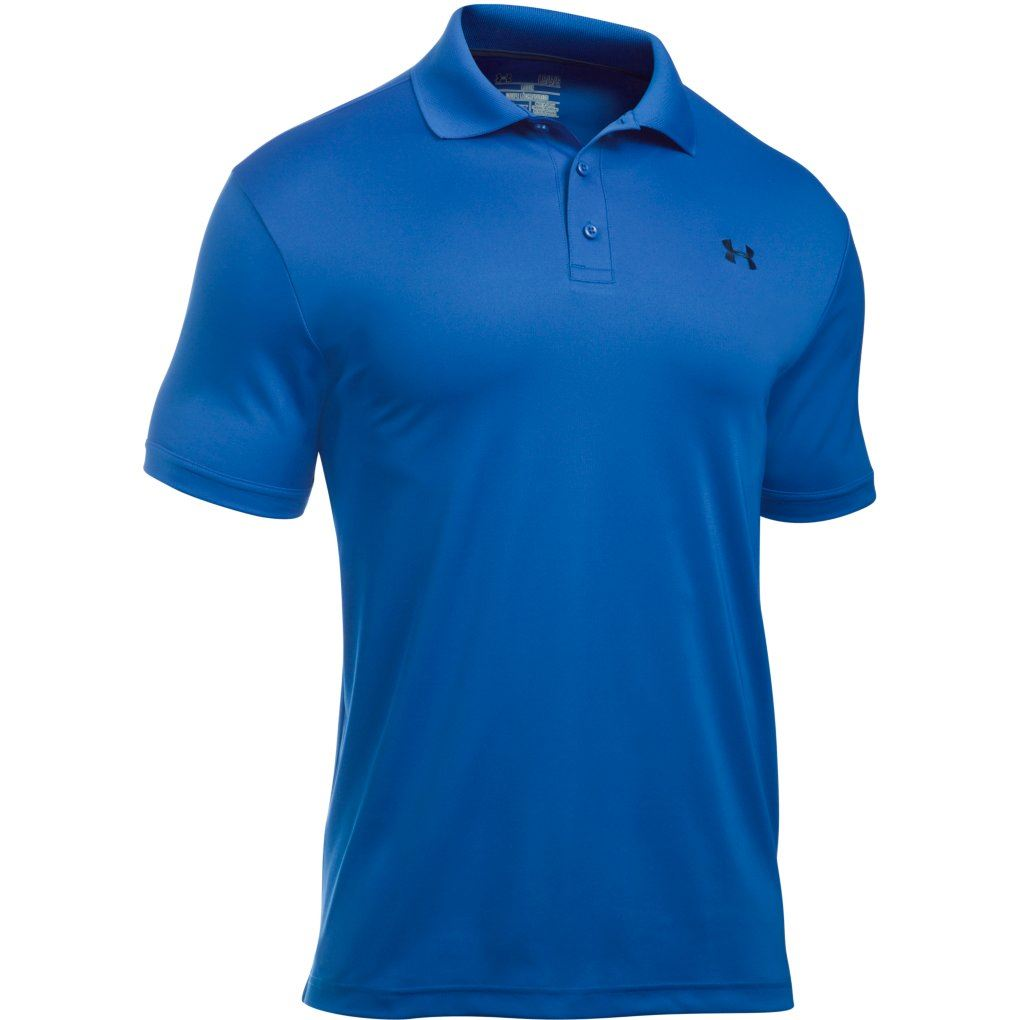 New 2017 under armour mens golf performance 2 0 logo for Mens under armour golf shirts