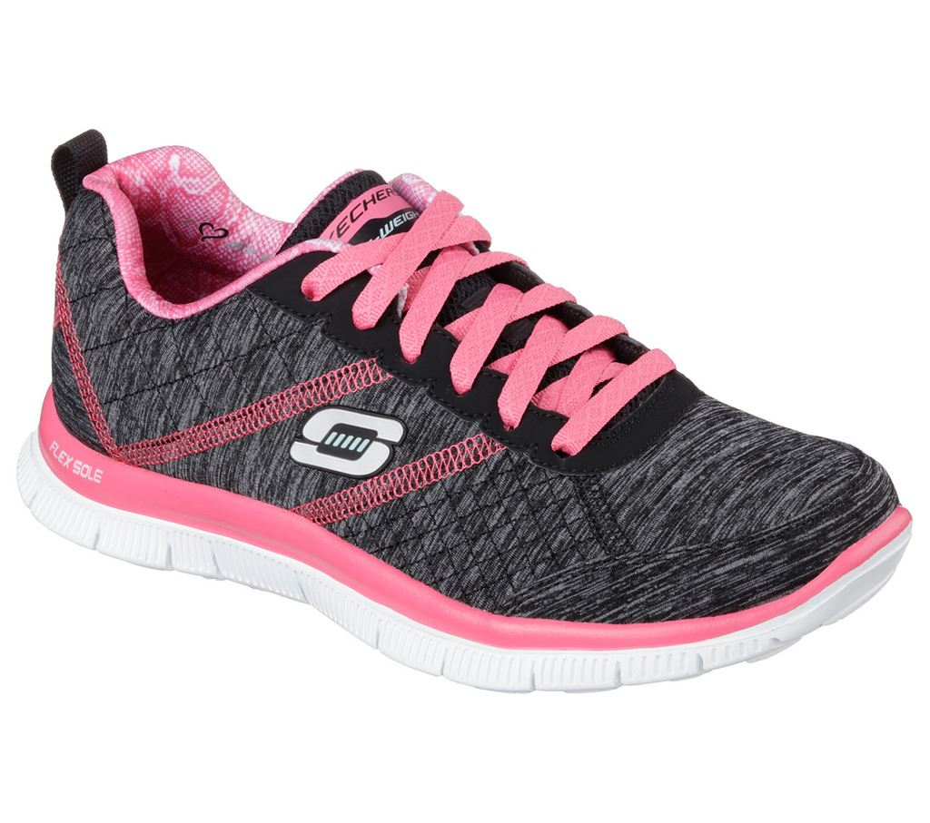 2017 Ladies Skechers Flex Appeal-Pretty City Womens Street ...
