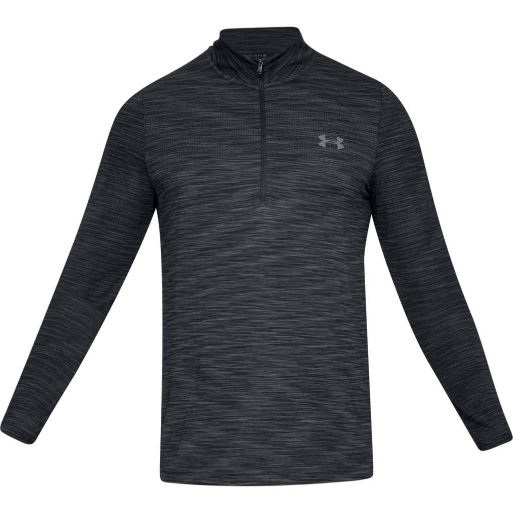 UNDER-ARMOUR-MENS-UA-VANISH-SEAMLESS-STRETCH-MESH-1-2-ZIP-GOLF-PULLOVER thumbnail 2