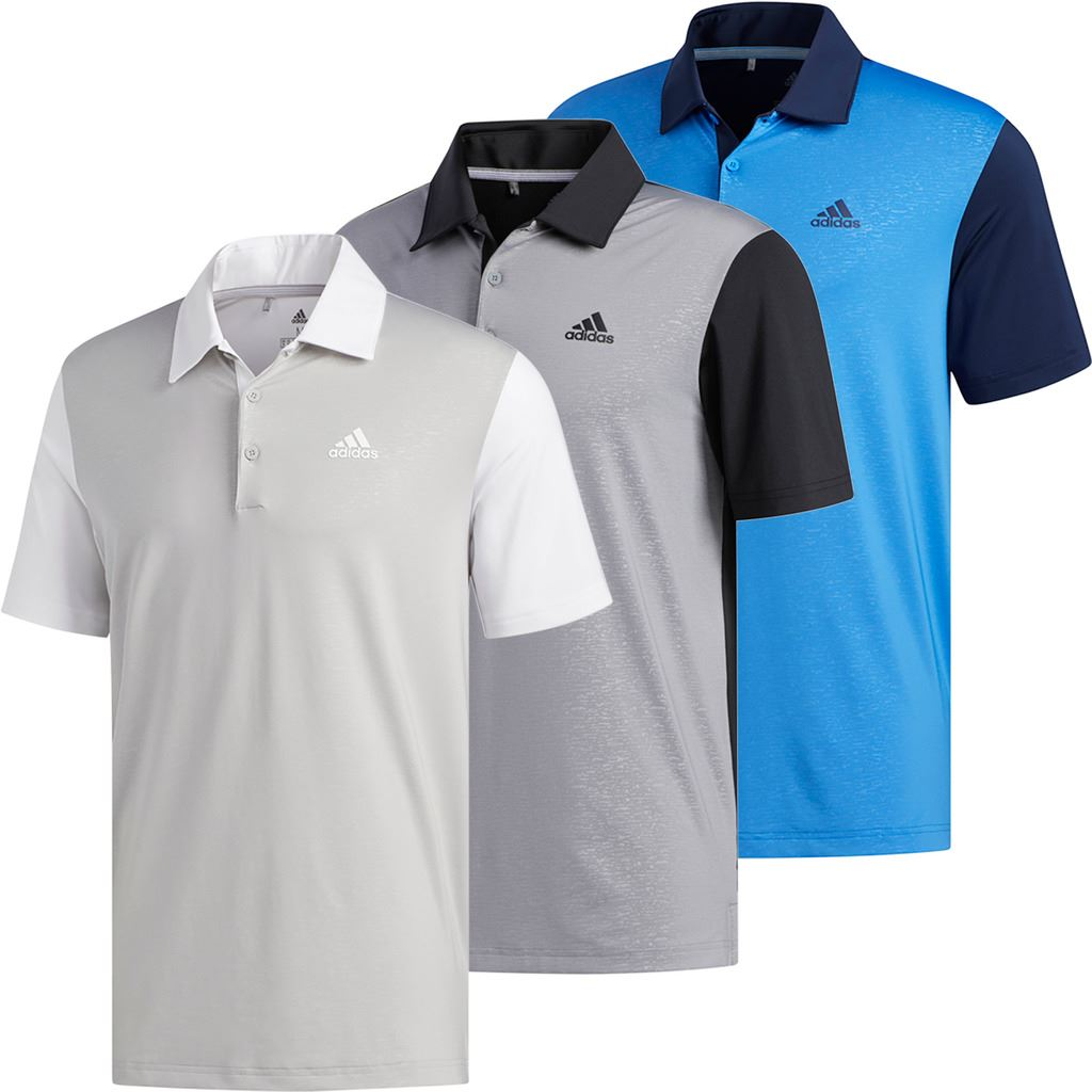 69f05b65 Details about adidas Golf 2019 Mens Ultimate 2.0 Novelty Short Sleeve Golf Polo  Shirt