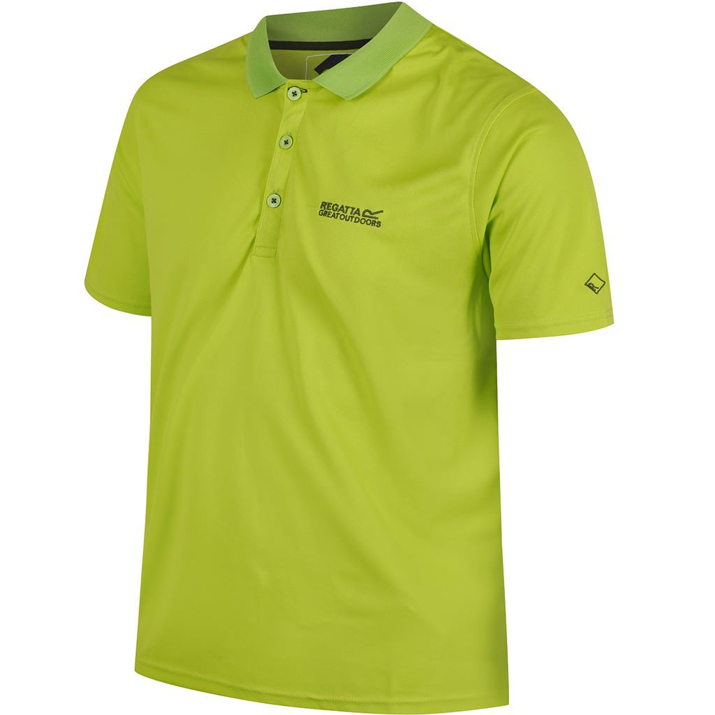 Regatta Homme Maverick IV Polo T-Shirt XL Vert Racing MqRdO