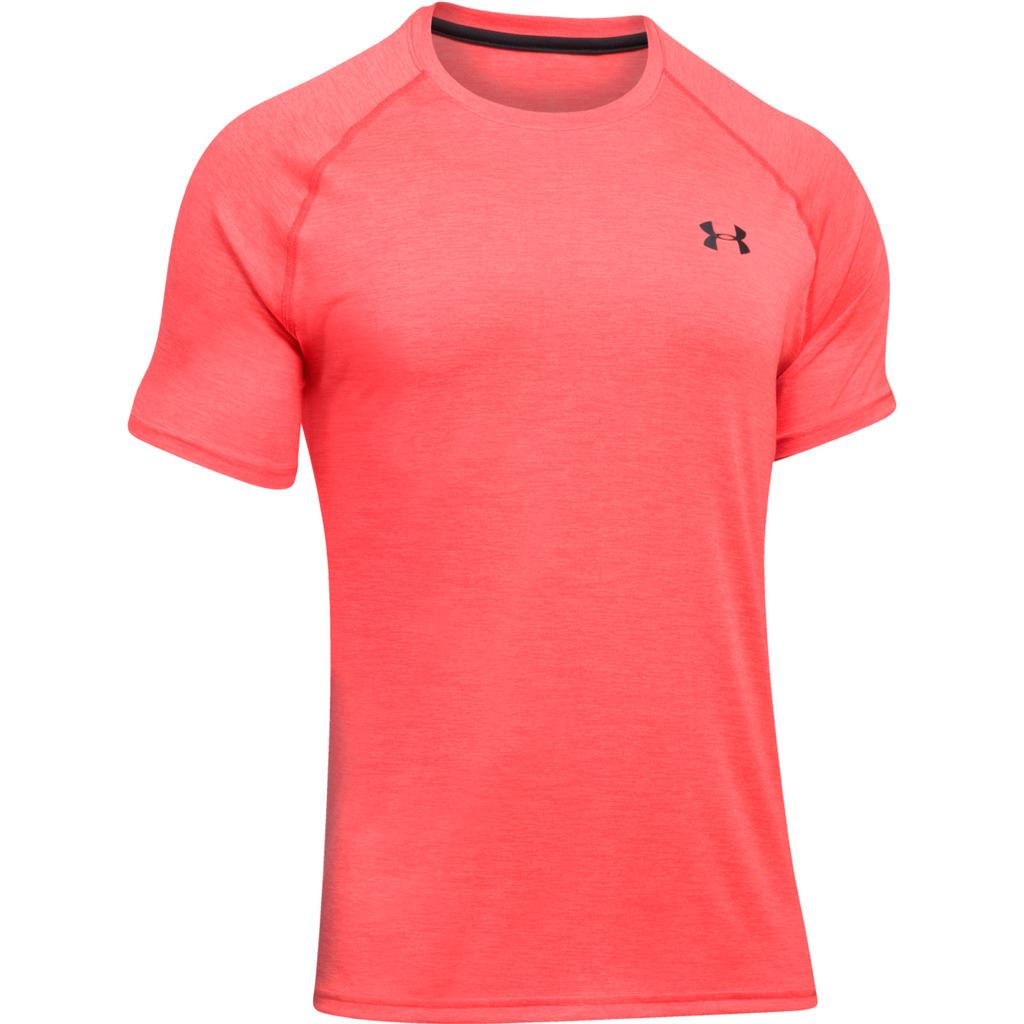 Under armour ua 2018 mens t shirt heatgear gym short for Under armour lifting shirts