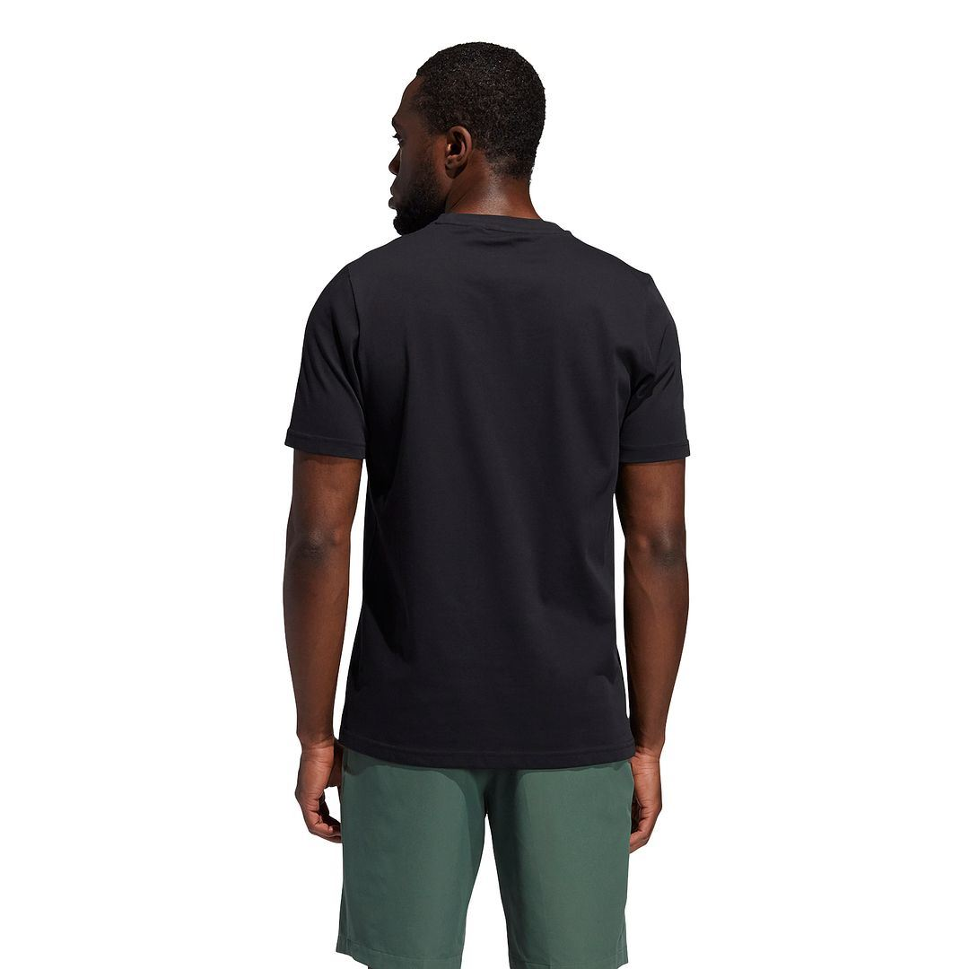 thumbnail 3 - ADIDAS Golf Mens Championship Stretch Lightweight 3-Stripes T-Shirt