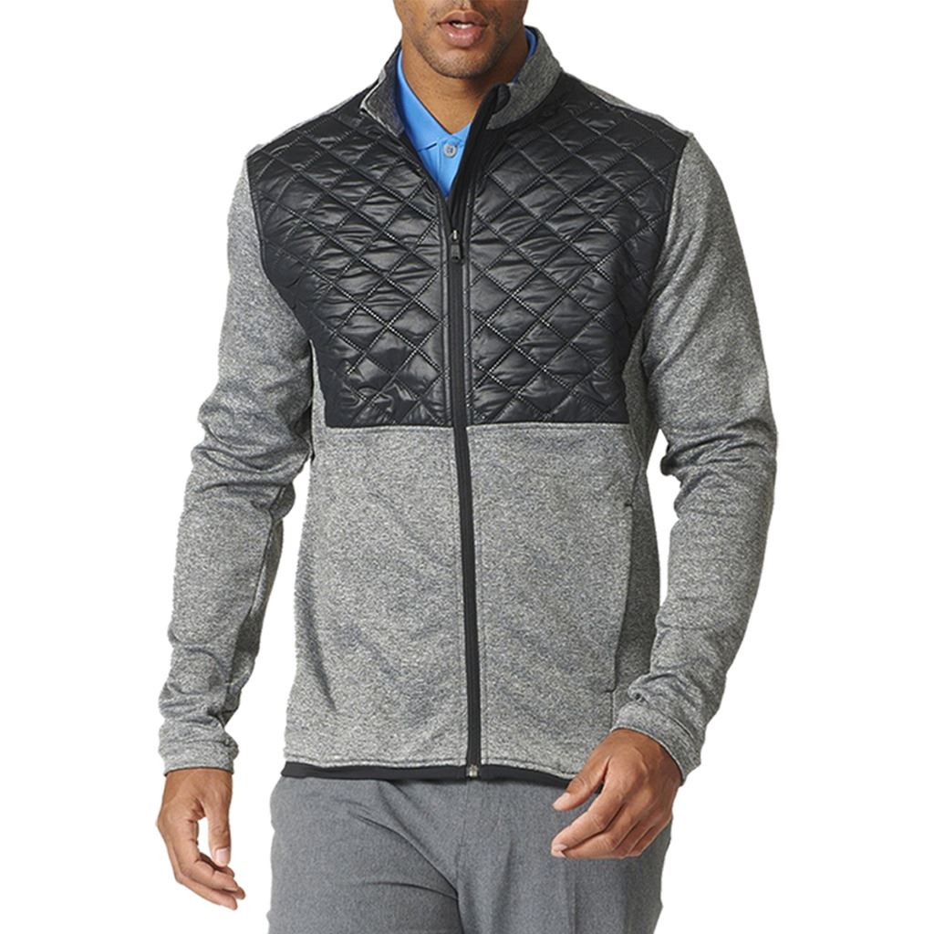 Adidas Golf AW17 Climaheat Prime Fill Insulated Quilted Mens Golf Thermal  Jacket; Picture 2 of 2