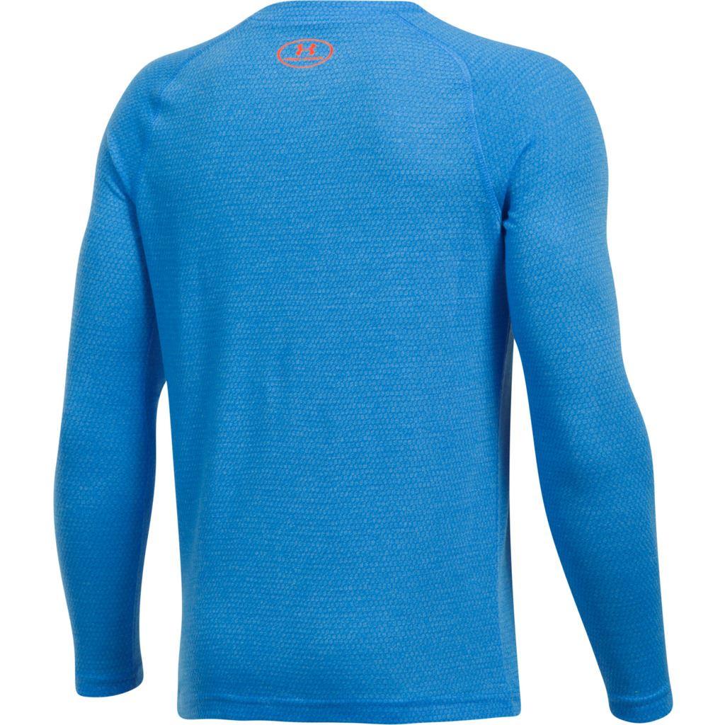 Under-Armour-Youth-Boys-Hybrid-Big-Logo-Long-Sleeve-T-Shirt-40-OFF thumbnail 3
