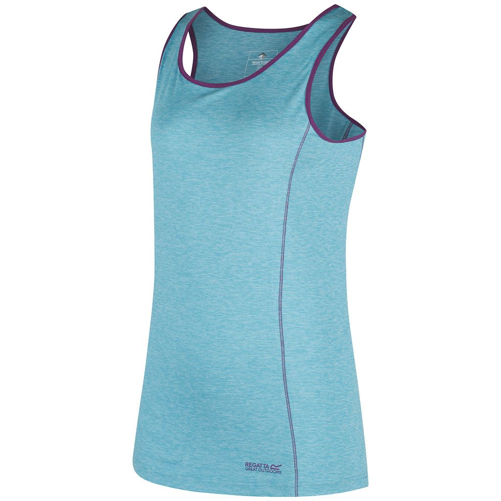 REGATTA-LADIES-VASHTI-II-WICKING-WALKING-STRETCH-WOMENS-VEST-TOP-T-SHIRT-45-OFF thumbnail 4