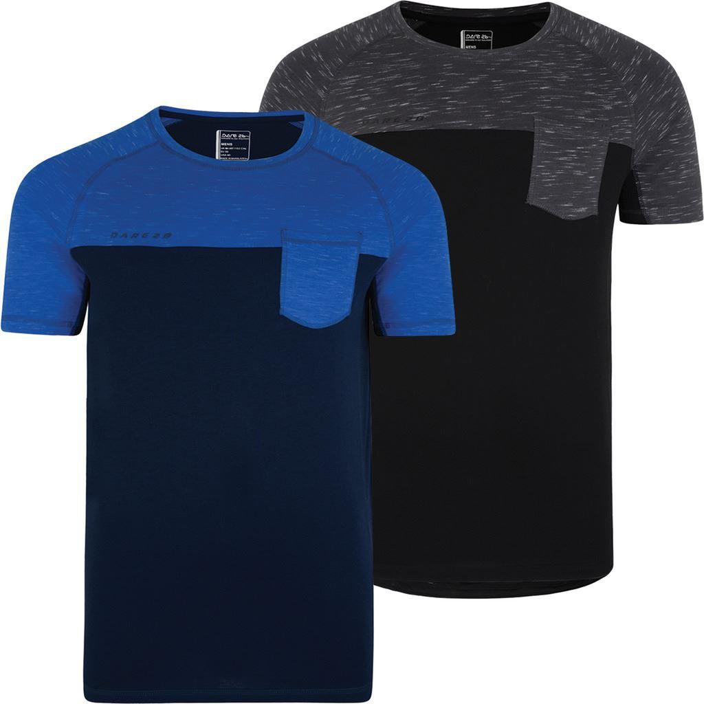 Dare 2B Cityscape à manches courtes T-shirt Hommes Casual Fit T-shirt en coton