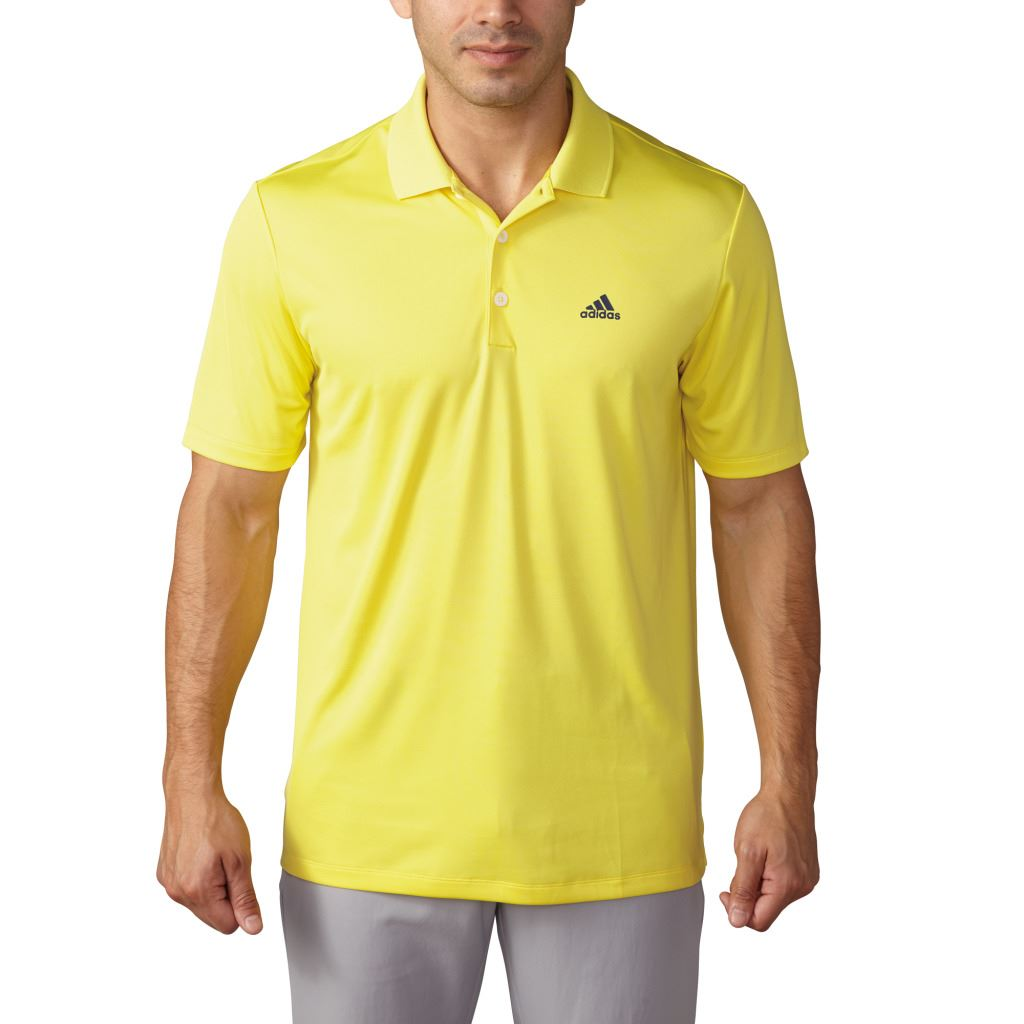 Adidas golf 2017 performance logo chest polo lightweight for Polo golf shirts for men