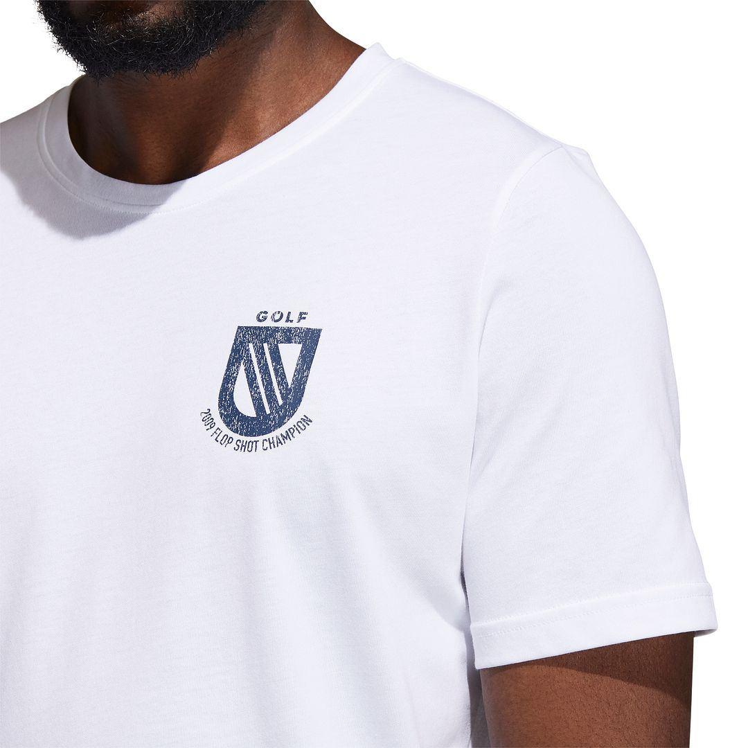 thumbnail 10 - ADIDAS Golf Mens Championship Stretch Lightweight 3-Stripes T-Shirt