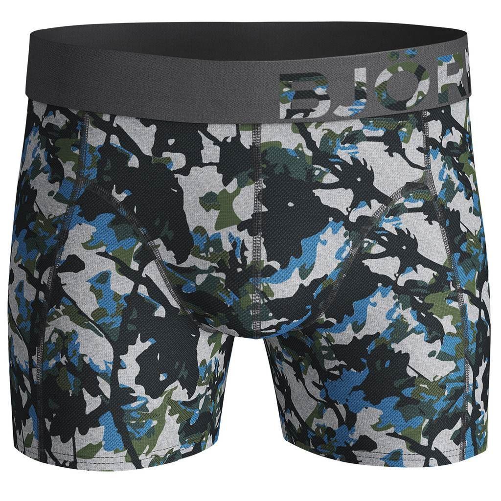 Bjorn-Borg-2019-2-Pack-Shorts-BB-Branch-Boxer-Briefs-Mens-Under-Wear miniatuur 7