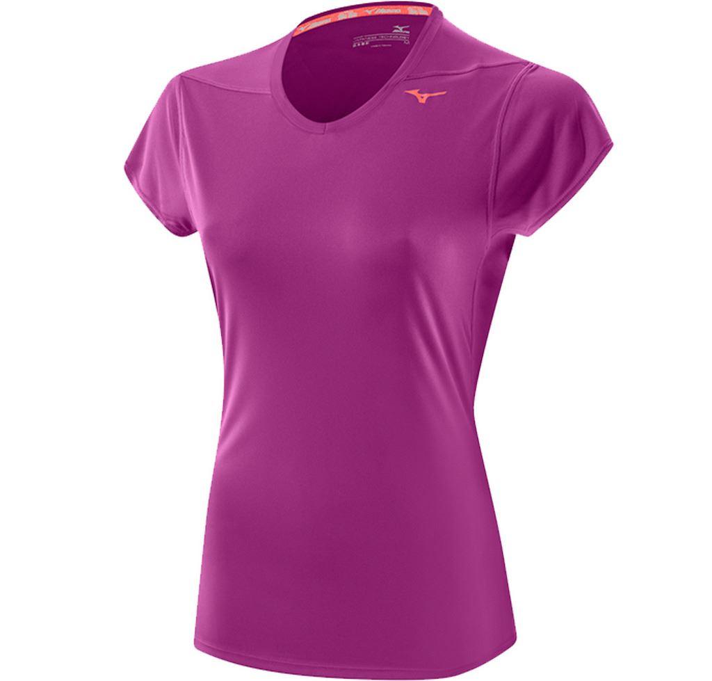SALE-Ladies-Mizuno-Drylite-Core-Tee-Womens-Running-