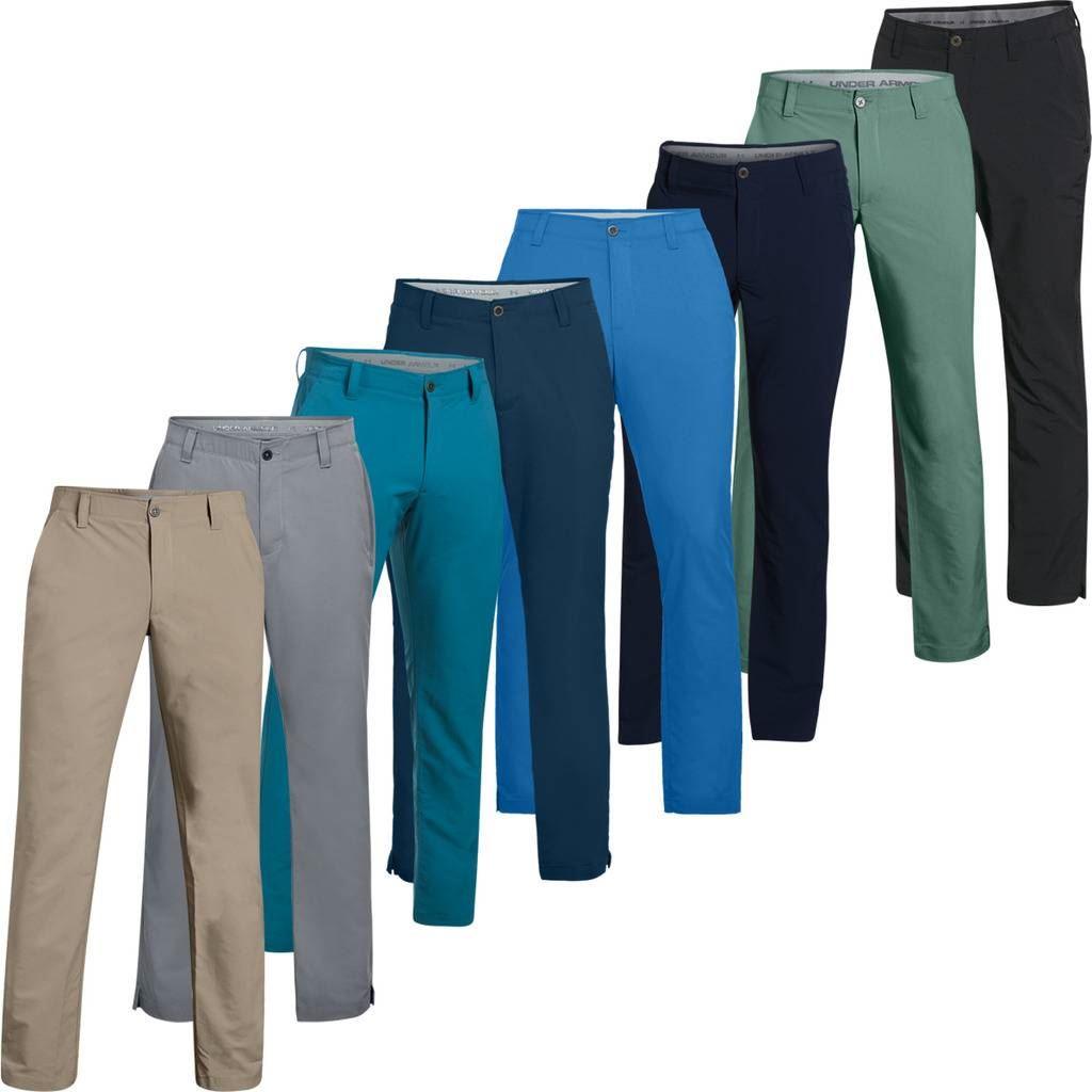 66b8b3f7b Under Armour UA Match Play Tapered Leg Pants Mens Golf Trousers | eBay