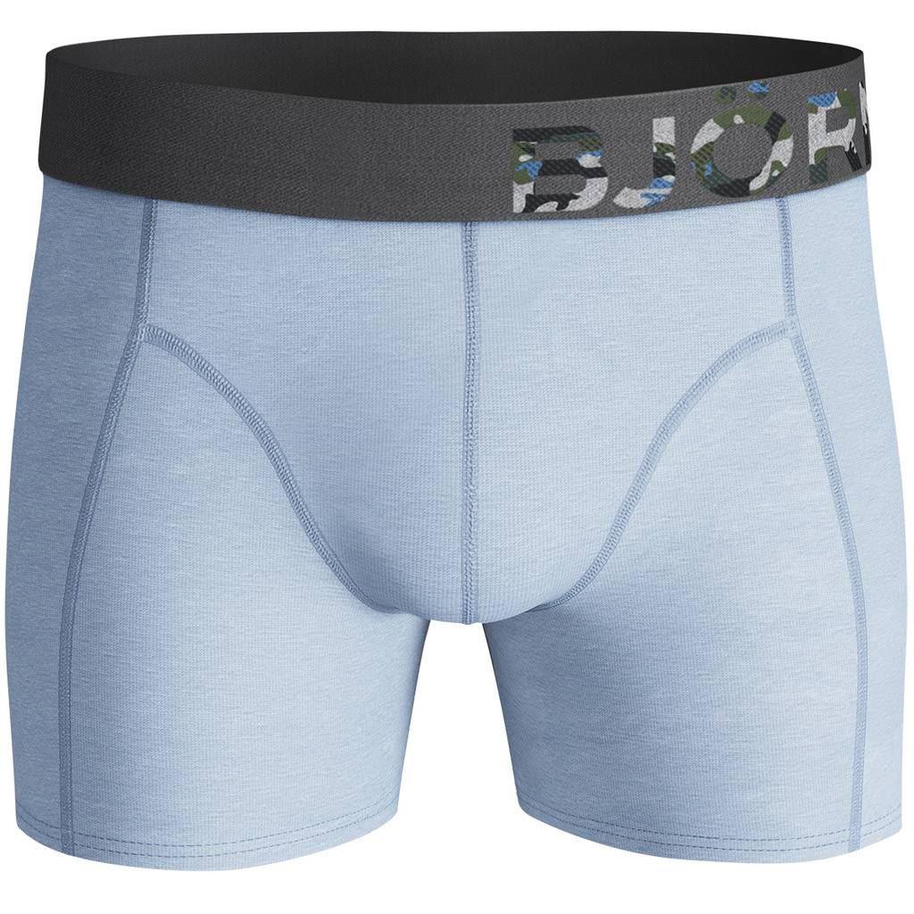 Bjorn-Borg-2019-2-Pack-Shorts-BB-Branch-Boxer-Briefs-Mens-Under-Wear miniatuur 9
