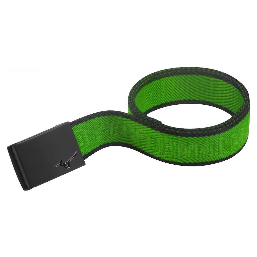 50-OFF-Mizuno-Belt-MRB-Metal-Logo-Mens-Funky-Golf-Webbing-Belt-One-Size
