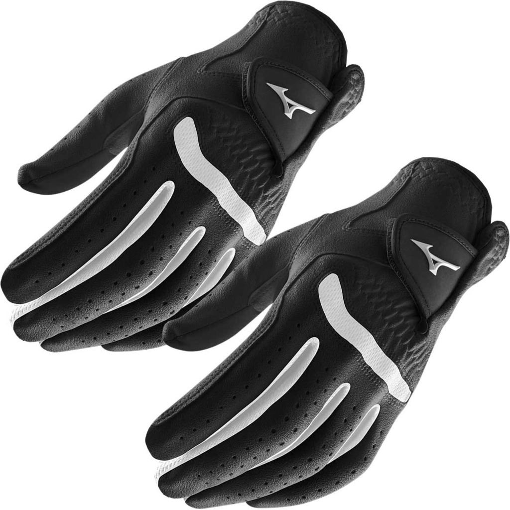 Pack-of-2-2018-Mizuno-All-Weather-Comp-Mens-Golf-Gloves-Left-Hand