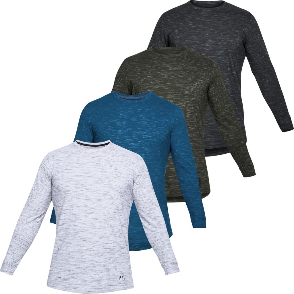 0a965a0c Under Armour Mens UA Sportstyle Long Sleeve Charged Cotton T-Shirt ...