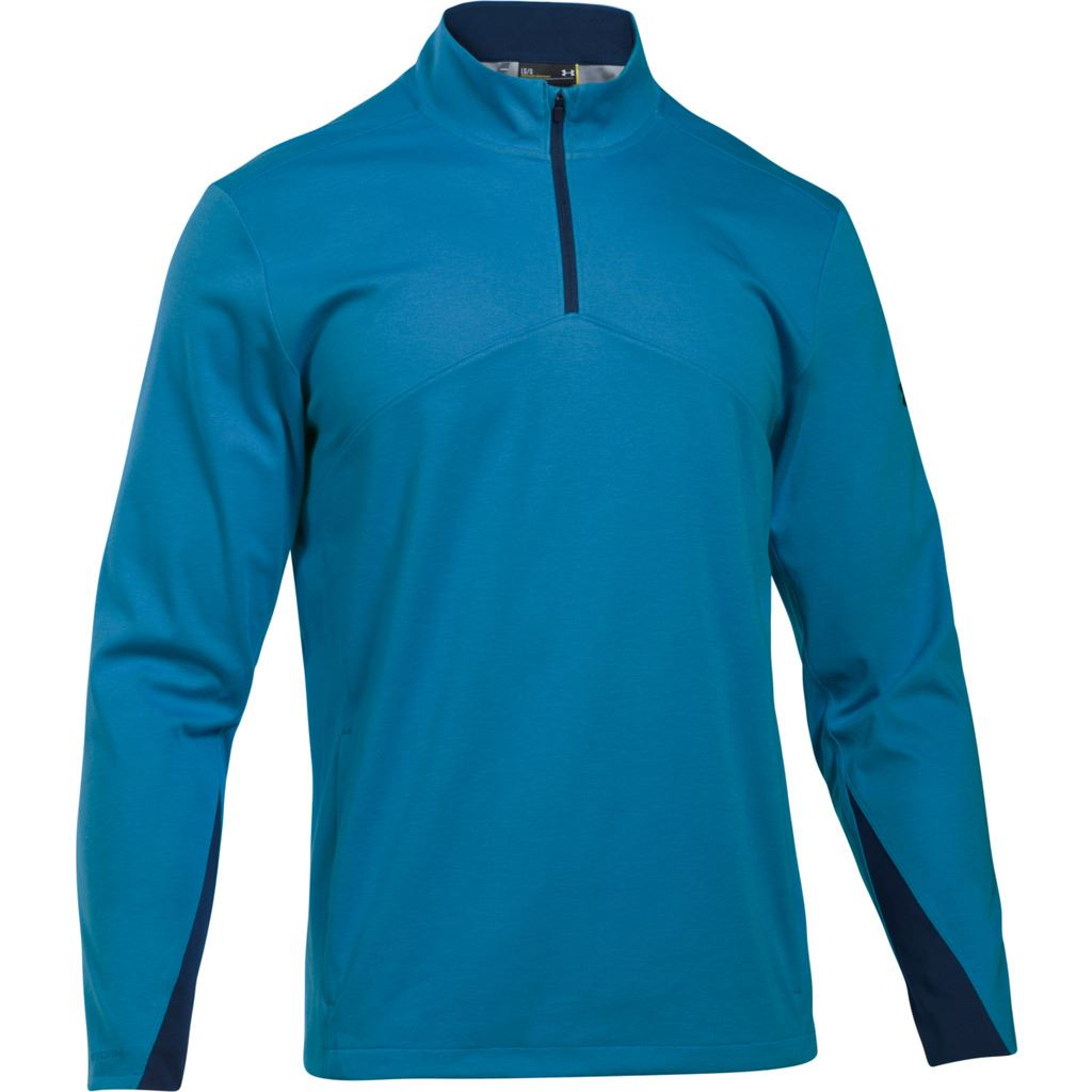 55-OFF-UNDER-ARMOUR-STORM-ELEMENTS-1-4-ZIP-THERMAL-SWEATER-WIND-GOLF-PULLOVER thumbnail 6