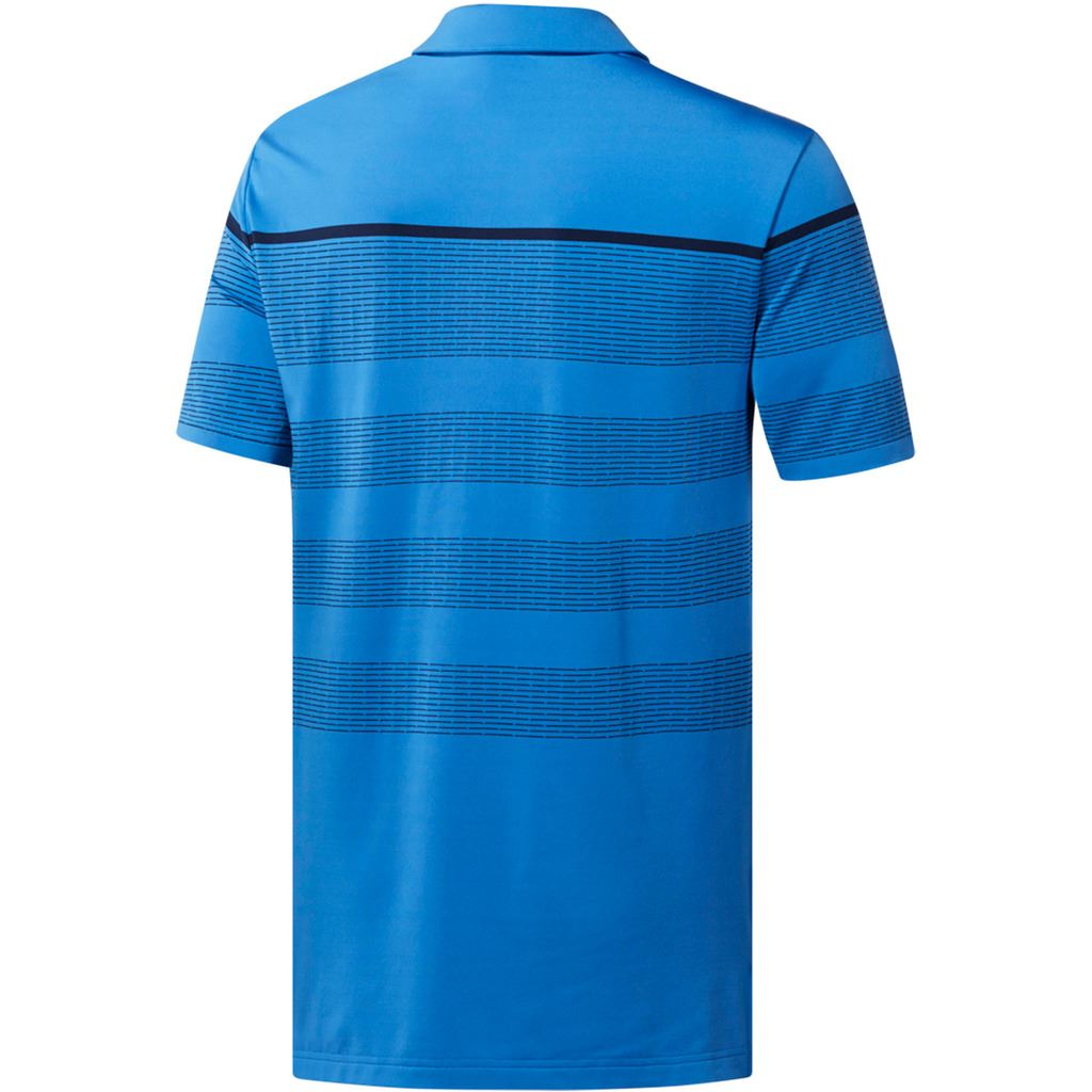 adidas-Golf-2019-Mens-Ultimate-365-Dash-Stripe-Short-Sleeve-Golf-Polo-Shirt thumbnail 7