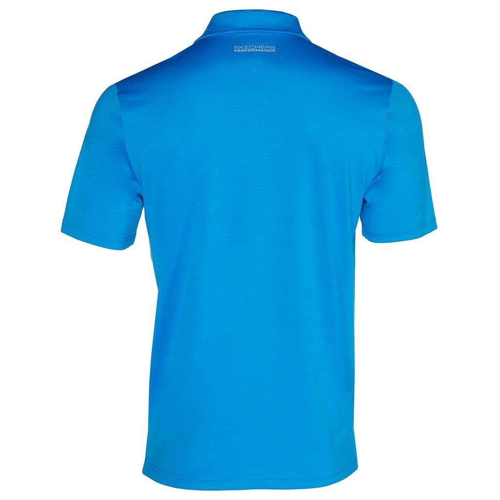 Skechers-Ir-golf-para-hombre-Sawgrass-Bolsillo-Manga-Corta-Camisas-Polo-de-rendimiento miniatura 11
