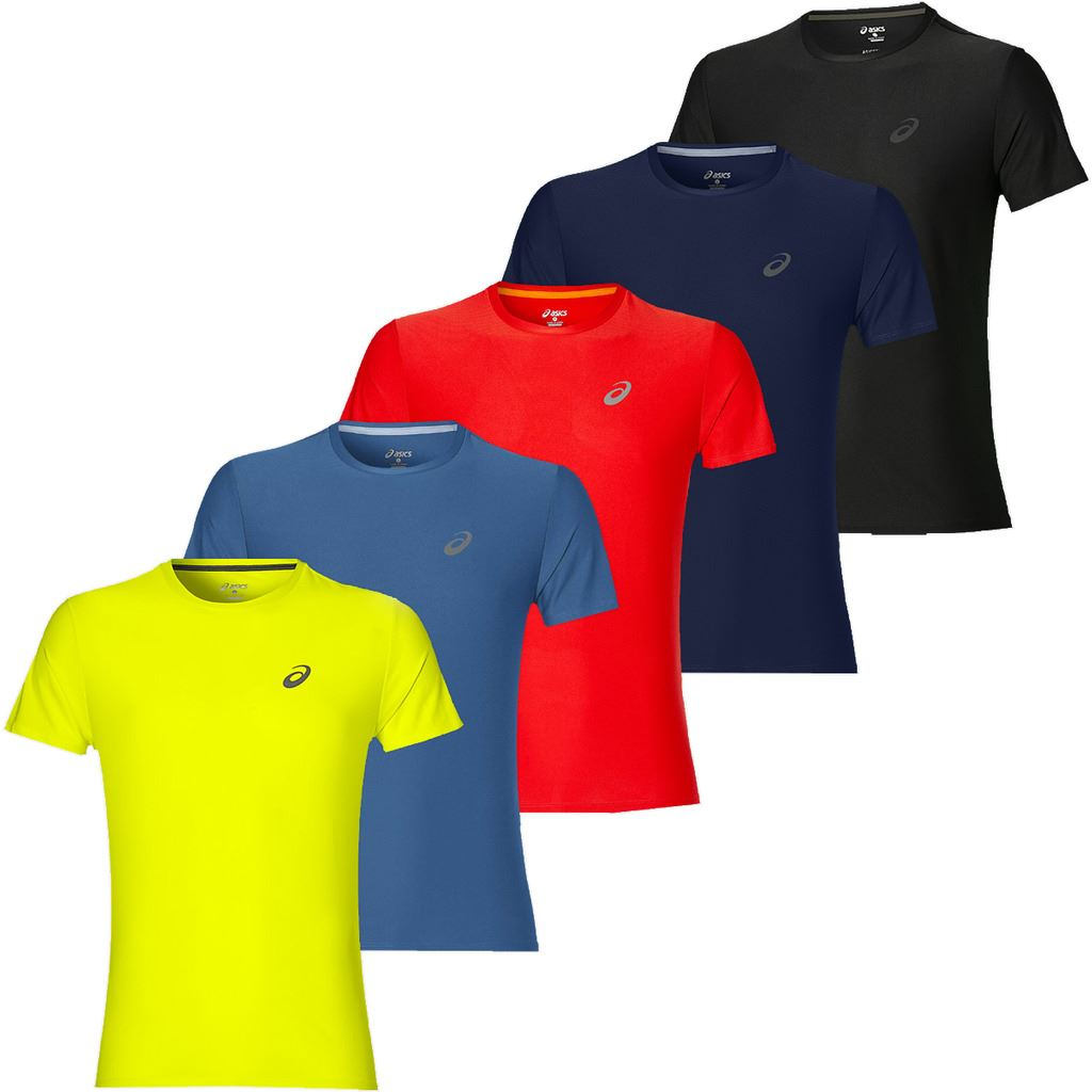 popular stores san francisco incredible prices Details about Asics MotionDry Lightweight SS T-Shirt Running Top Mens  Sports Tee