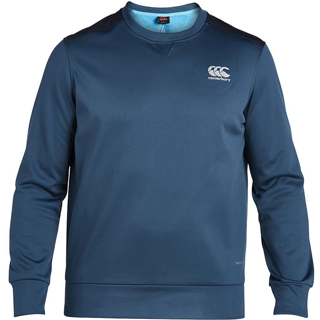 Hommes Fleece Bonded Eau Pull Sport De Thermoreg Répulsif 2018 Crew Canterbury Sfwxvv
